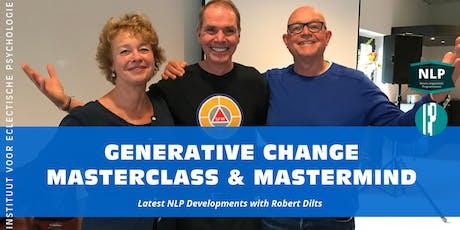 Robert Dilts - Generative Change Masterclass & Mastermind tickets