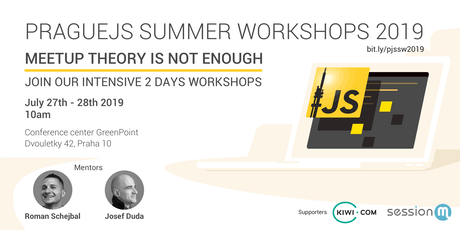 PragueJS Summer Workshops 2019 Tickets