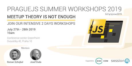 PragueJS Summer Workshops 2019 tickets