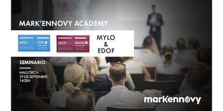 """19/09/19 - Seminario """"EDOF & MYLO"""" - Mallorca entradas"""