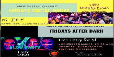 Fridays: Social House + After Dark (Glow Party) tickets