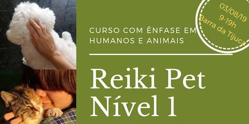 Curso Reiki Pet Nível 1- O Despertar. Abordagem para uso em pessoas e animais.