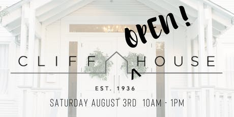 Cliff {Open} House tickets