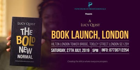 Fenchurch Professionals presents: The Bold New Normal Book Launch tickets