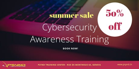 CyberSecurity Awareness Training billets