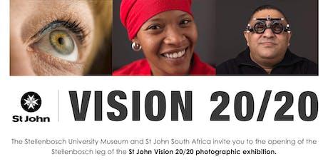 St John Vision 20/20 exhibition - Stellenbosch tickets