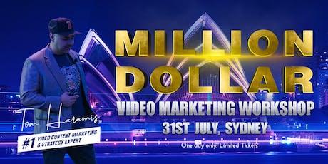 Million Dollar Video Marketing Workshop tickets