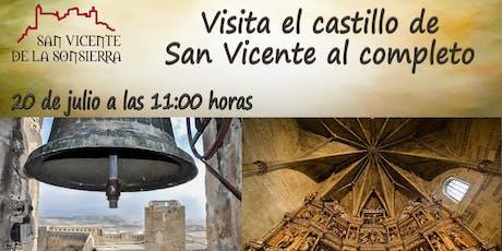 Castillo de San Vicente al completo entradas