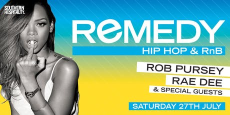 Remedy - Hip Hop + R&B tickets