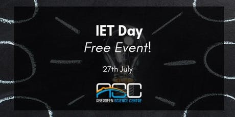 IET Day tickets