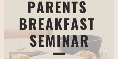 Parents' Breakfast Seminar - 'Taking Sunday School beyond Sundays' tickets