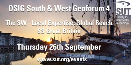 OSIG South West Geoforum 4 The South West - Local Expertise, Global Reach tickets