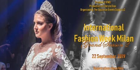 International Fashion Week Milan season 2  tickets