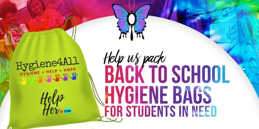 Back to School Hygiene Packing Event
