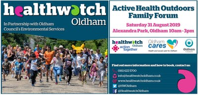 Relax and Breathe with Lucy at the Active Health Outdoors Family Forum