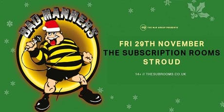 Bad Manners (Subscription Rooms, Stroud) tickets