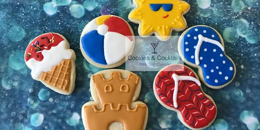 Life's a Beach Cookies and Cocktails
