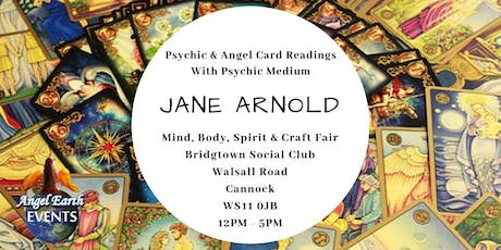 Psychic & Angel Card Readings with Jane Arnold tickets
