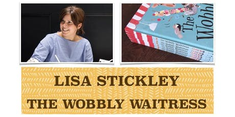 SUMMER READING CHALLENGE 2019 EVENT - 'The Wobbly Waitress' by Lisa Stickley tickets