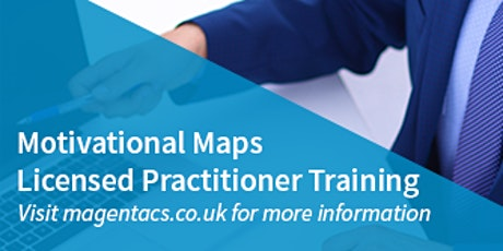Motivational Map Licensed Practitioner 2 day Training tickets