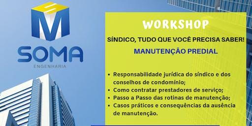 WORKSHOP MANUTENÇÃO PREDIAL