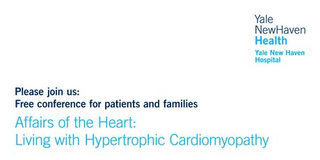 Affairs of the Heart:Living with Hypertrophic Cardiomyopathy, New Haven, CT tickets