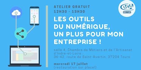 Atelier gratuit : Les outils numérique, un plus pour mon entreprise ! billets