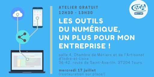Atelier gratuit : Les outils numérique, un plus pour mon entreprise !