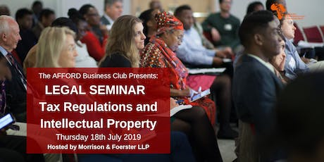 ABC Legal Seminar: Tax Regulations and Intellectual Property tickets