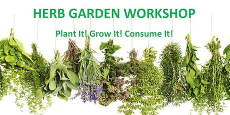 Herb Garden Workshop tickets