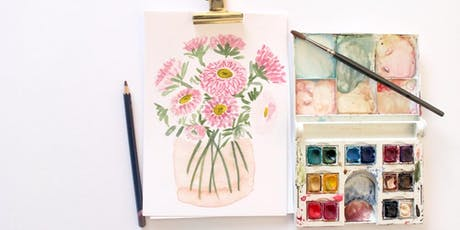 Introduction to Watercolours Workshop tickets