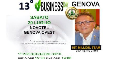 BUSINESS DAY GENOVA biglietti