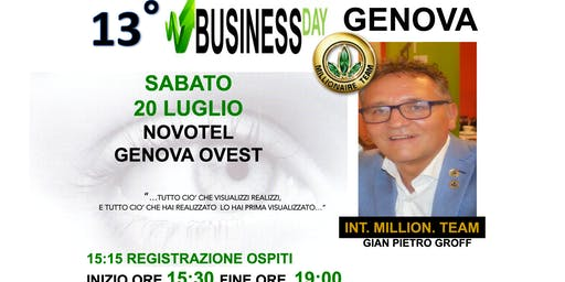 BUSINESS DAY GENOVA