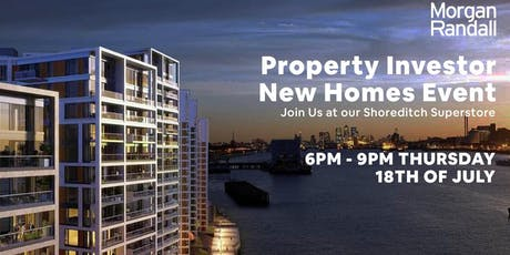 Property Investor  |  New Homes | London tickets