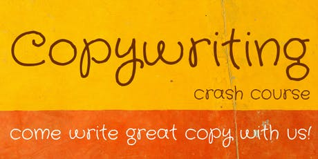Copywriting Crash Course - Beginners tickets