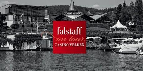 Falstaff on tour: Weingala im Casino Velden  Tickets