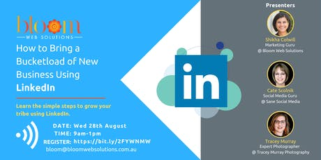 How to Bring a Bucketload of New Business Using LinkedIn tickets