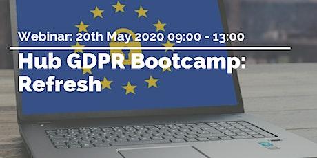 GDPR Bootcamp: Refresh tickets