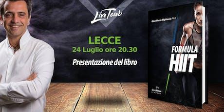 LECCE | Presentazione libro Formula HIIT  biglietti