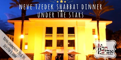 White City Shabbat Downtown: Neve Tzedek Young Shabbat Dinner, July 19 tickets
