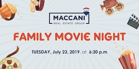 Maccani Group Family & Friends Movie Night tickets