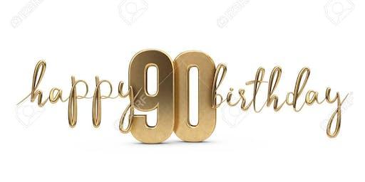 Surprise 90th Birthday Celebration For Dr. Johnea D. Kelley