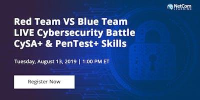 Virtual Event - Red Team VS Blue Team LIVE Cybersecurity Battle   CySA+ & PenTest+ Skills