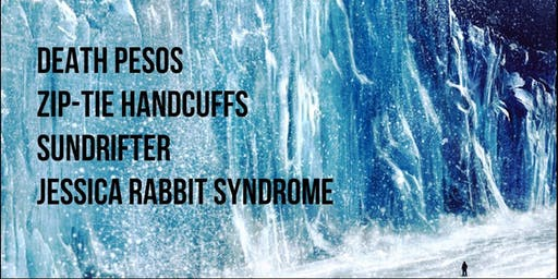 Death Pesos, Zip-Tie Handcuffs, Sundrifter, Jessica Rabbit Syndrome