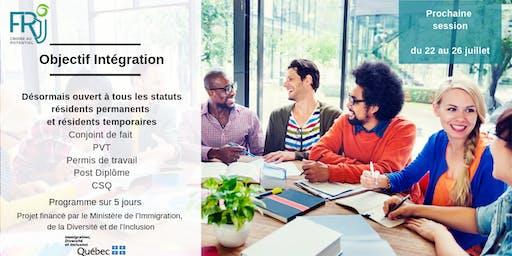Objectif Intégration : Prendre un bon départ en arrivant au Québec