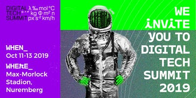 Digital Tech Summit 2019 - Conference