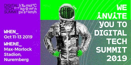 Digital Tech Summit 2019 - Conference tickets