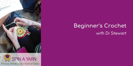 Beginner's Crochet Afternoons with Di Stewart - 12th and 26th September tickets