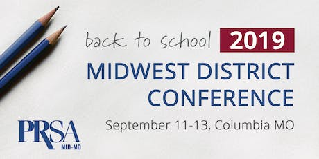 PRSA: Midwest District Conference 2019 tickets