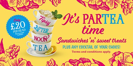 Tipsy Afternoon Tea! tickets